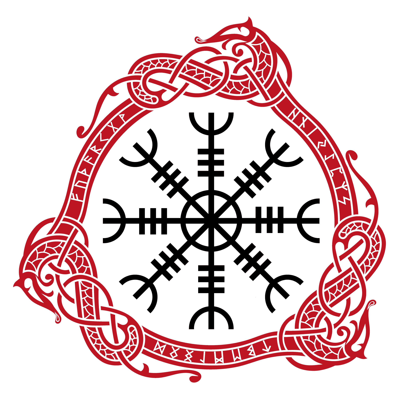 Aegishjalmur, the Viking Symbol of Strength