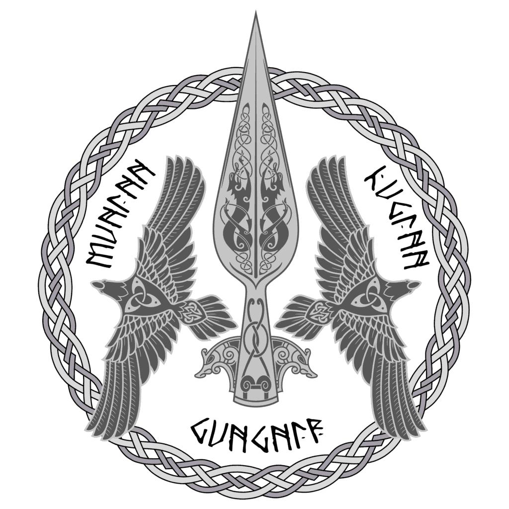 Gungnir the Spear of Odin, Odin Symbols