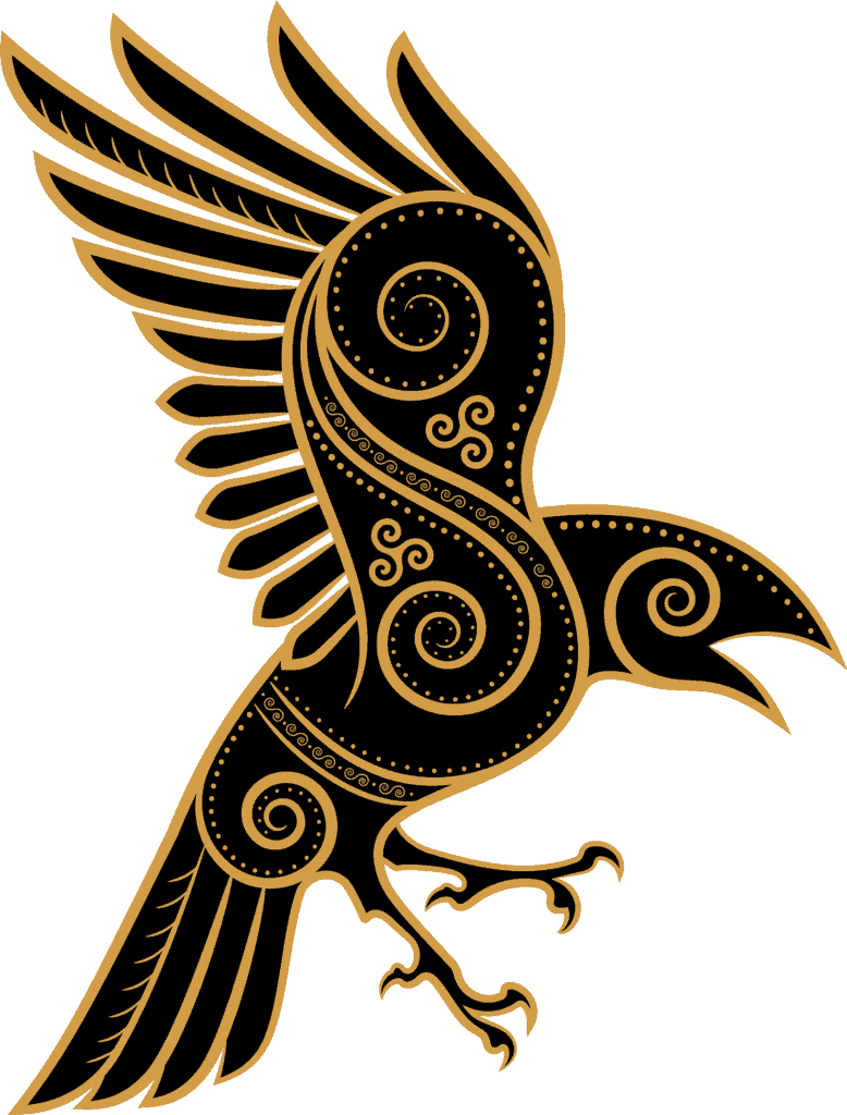 Ravens As Norse Symbols