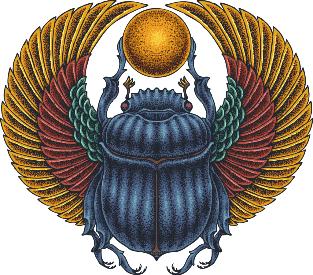 Scarab Beetle, One of the Most Important Ancient Symbols of Egypt