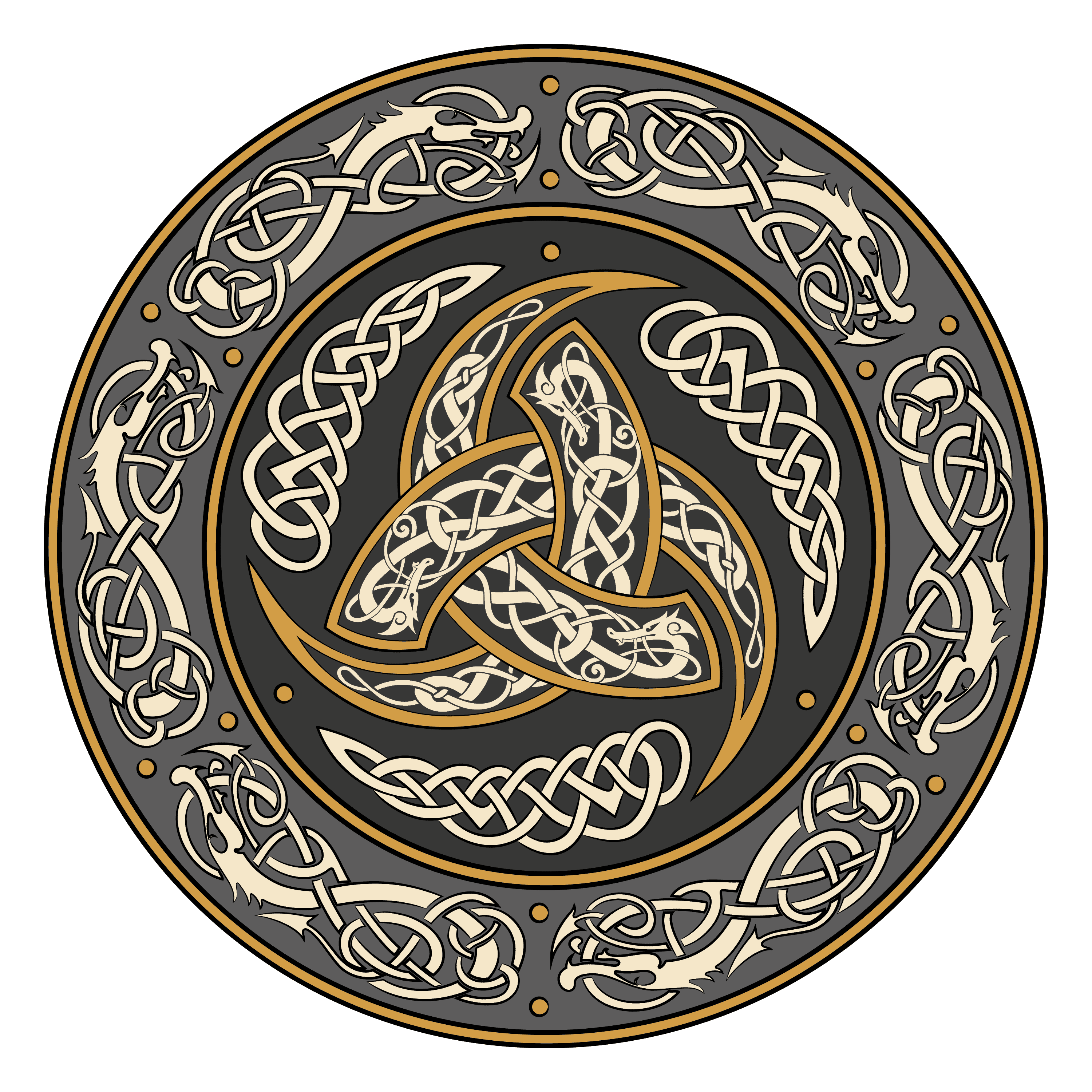 Triple Horn of Odin as a Pagan Symbol