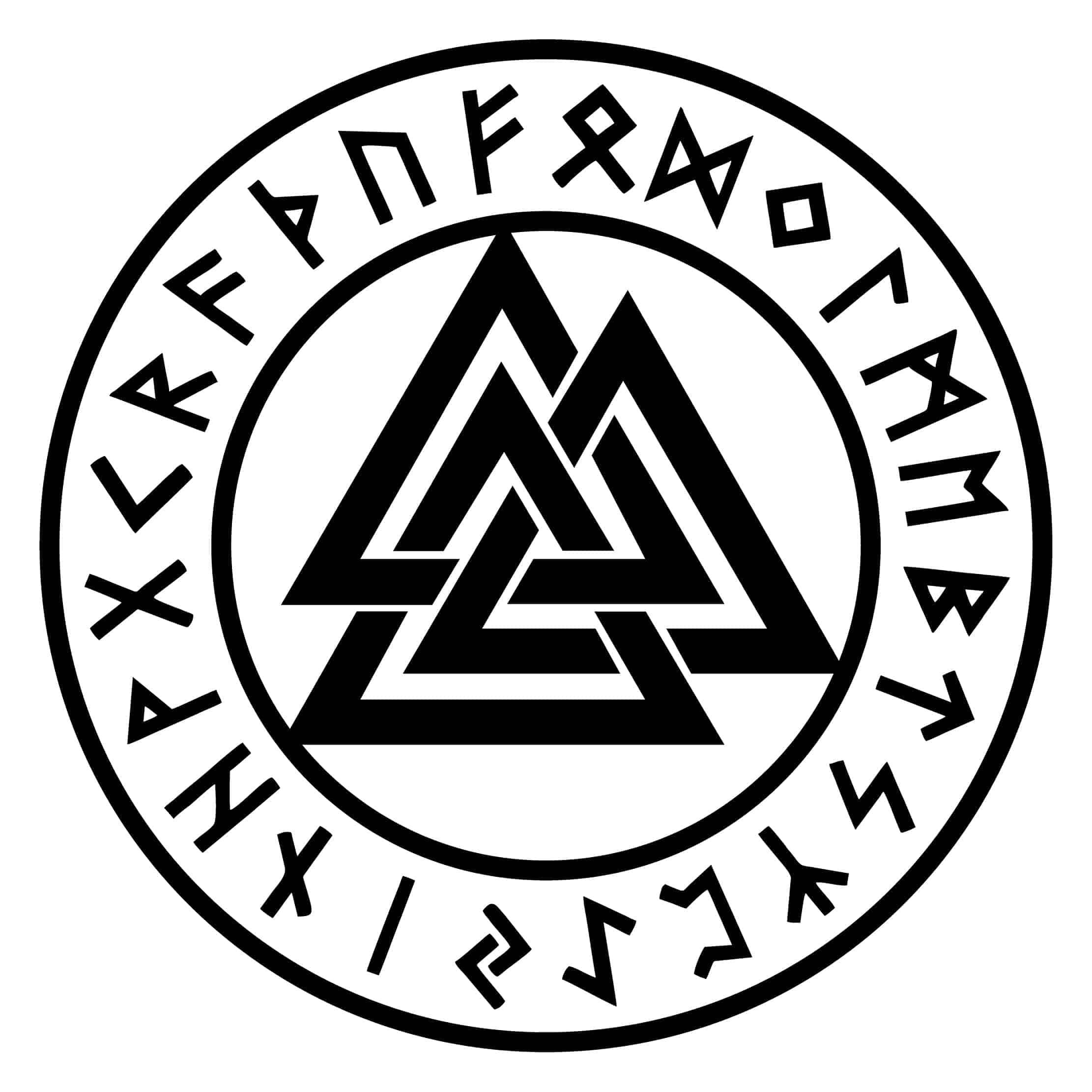 Valknut, Odin's Symbol, the Knot of the Slain Warrior