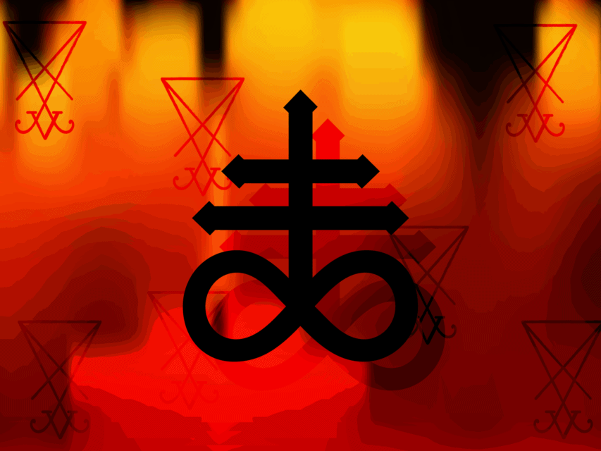 Leviathan Cross Meaning, Symbolism and Origin, Satanic Cross Explained