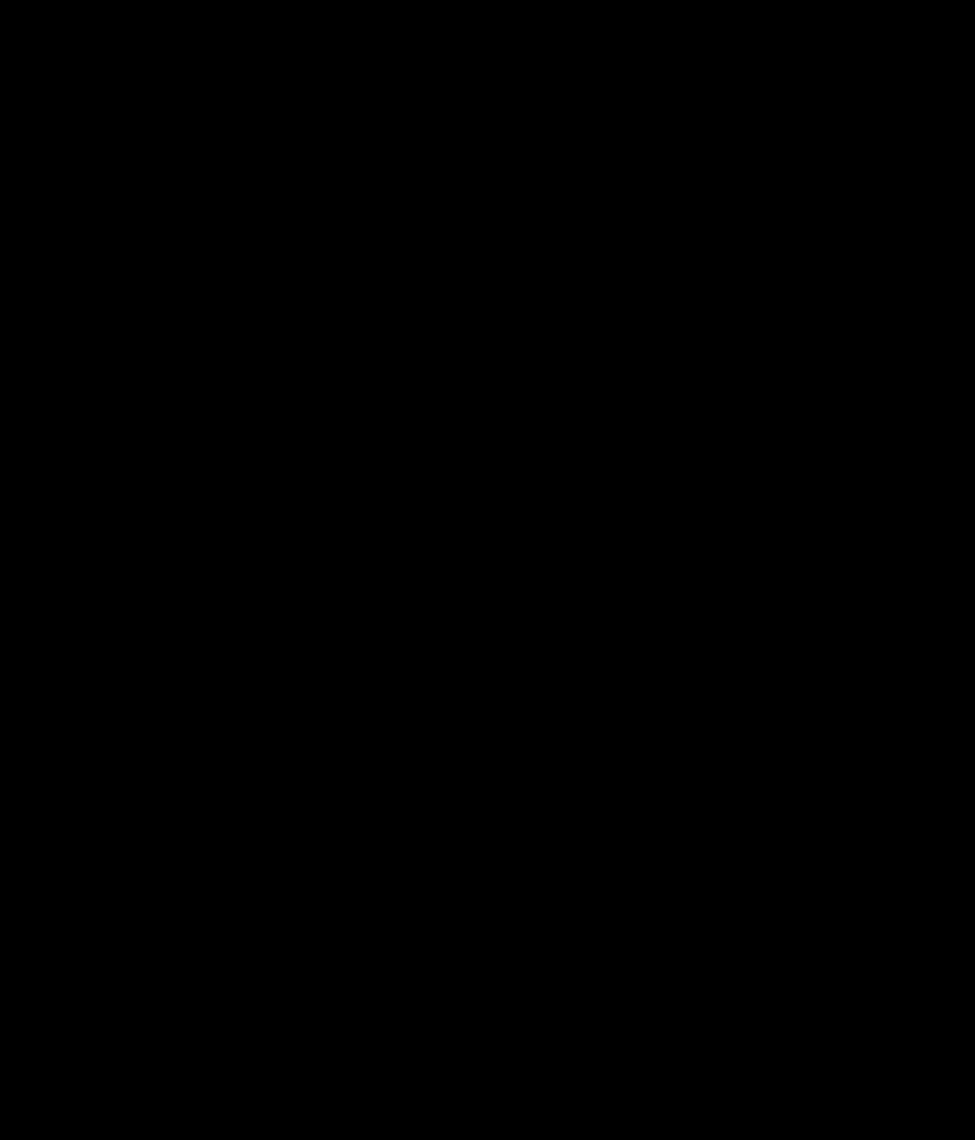 Leviathan Cross Symbol on white background