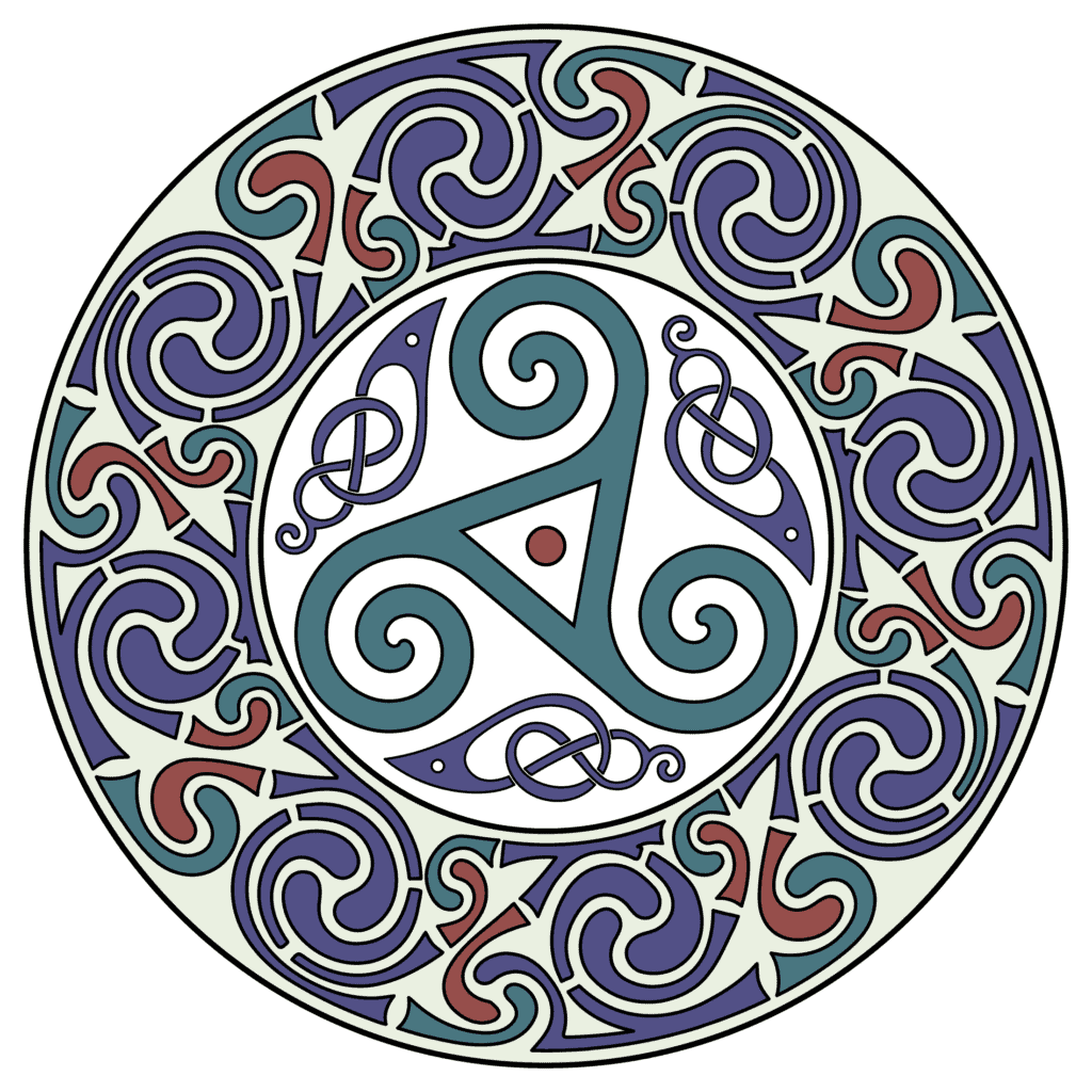 Celtic Triskele Symbol - Druid Symbols and Their Meanings Explained