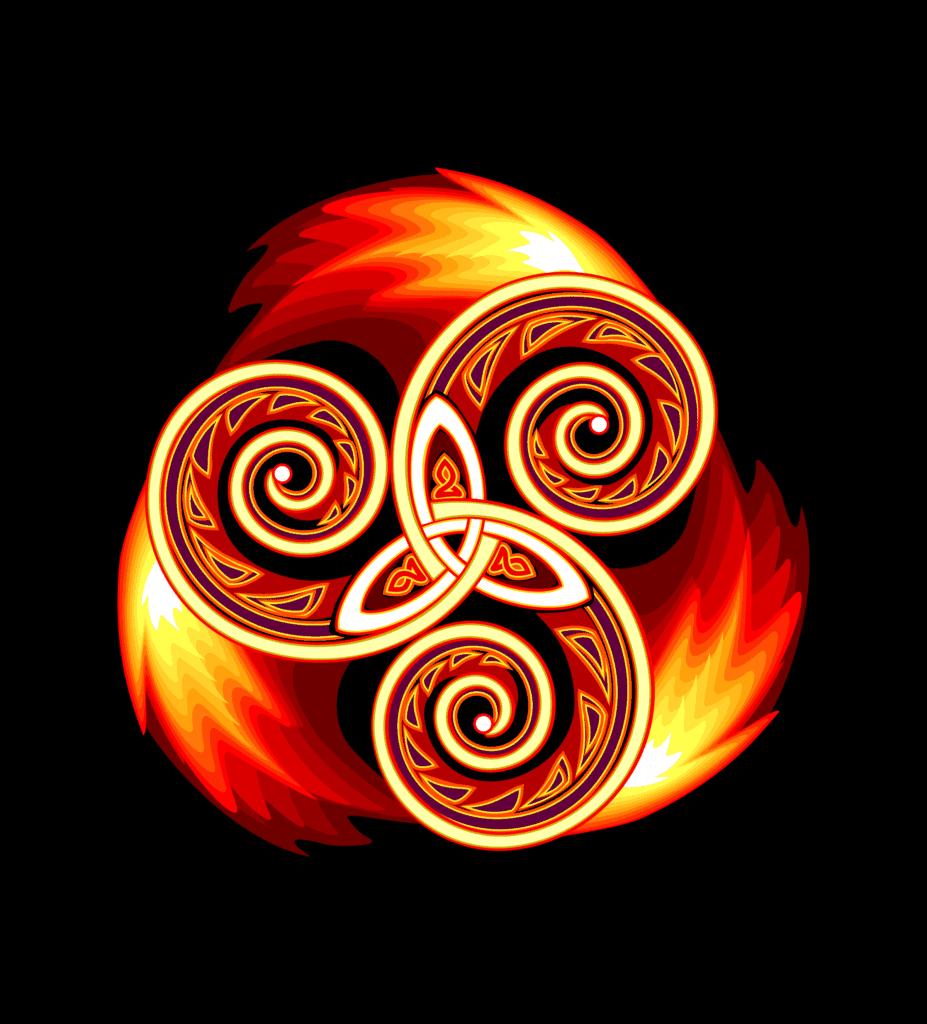 Celtic Triskelion, Symbols for Motherhood