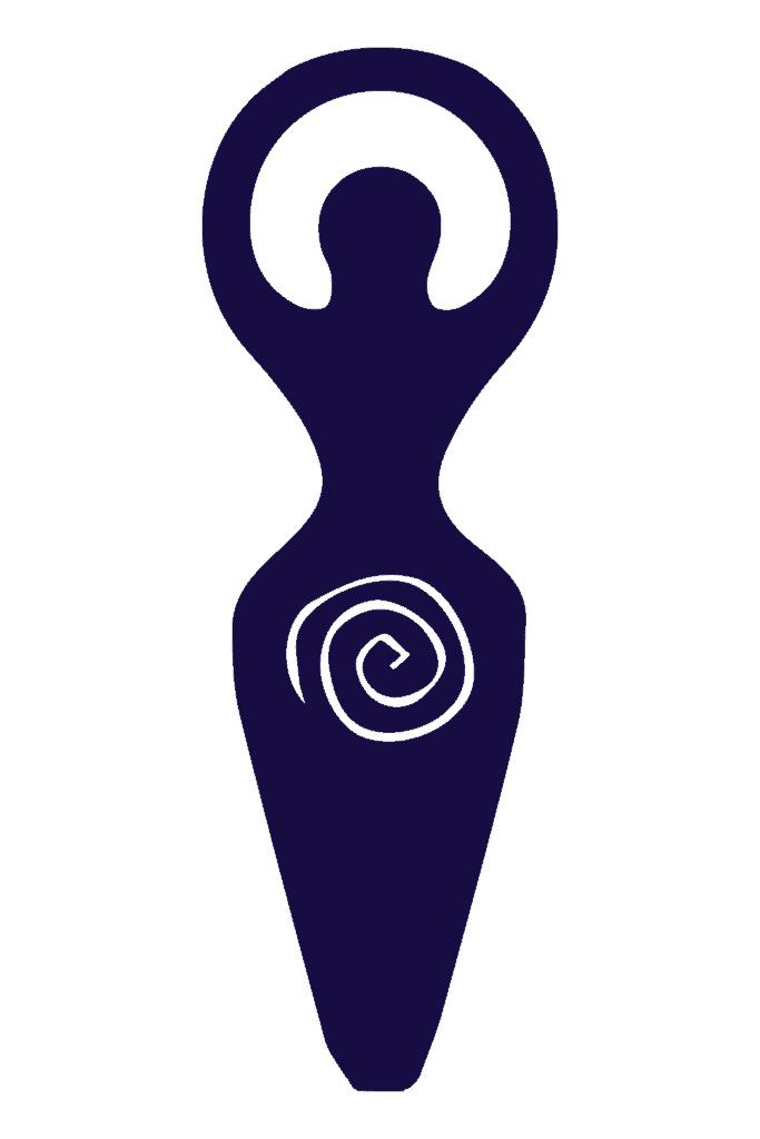Spiral Goddess, A Pagan Symbol