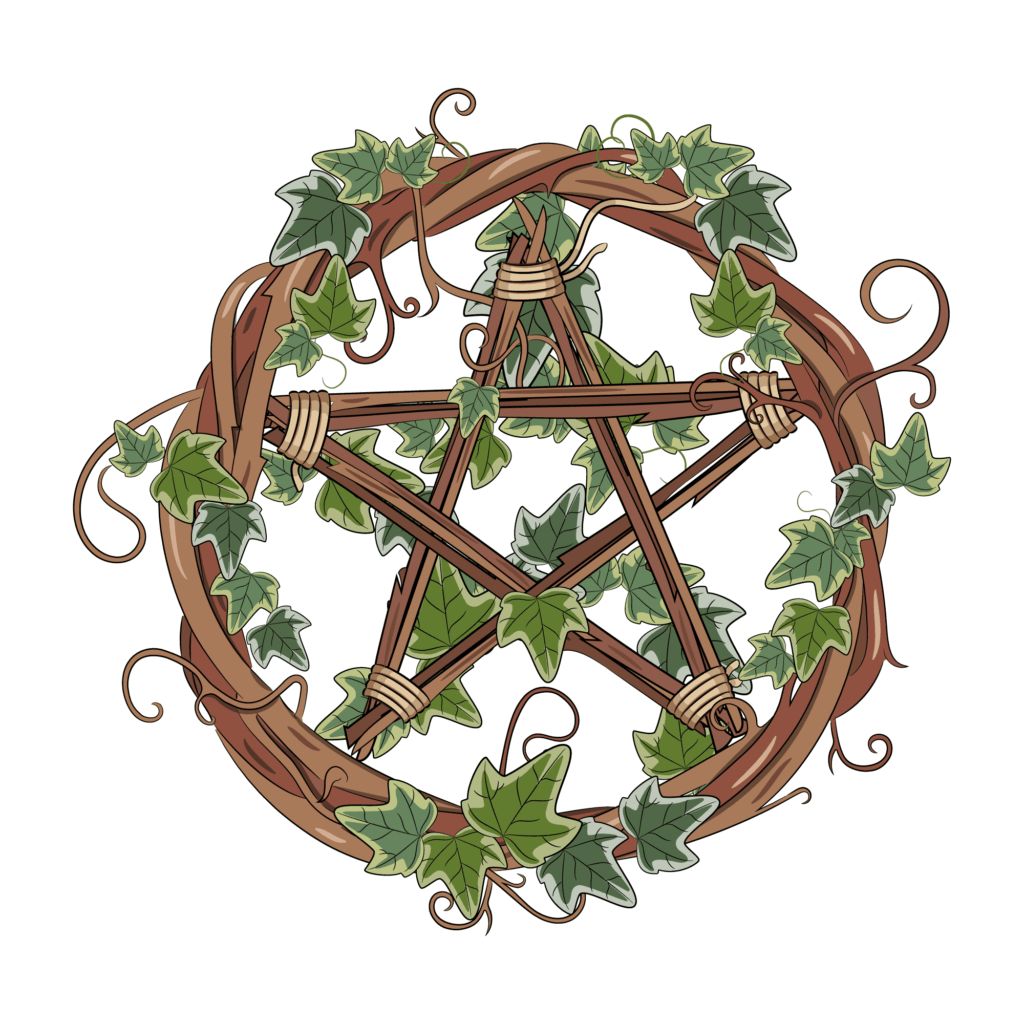 A Wooden Pentacle, Wiccan Pentacle Symbol Meaning Uses and Origins
