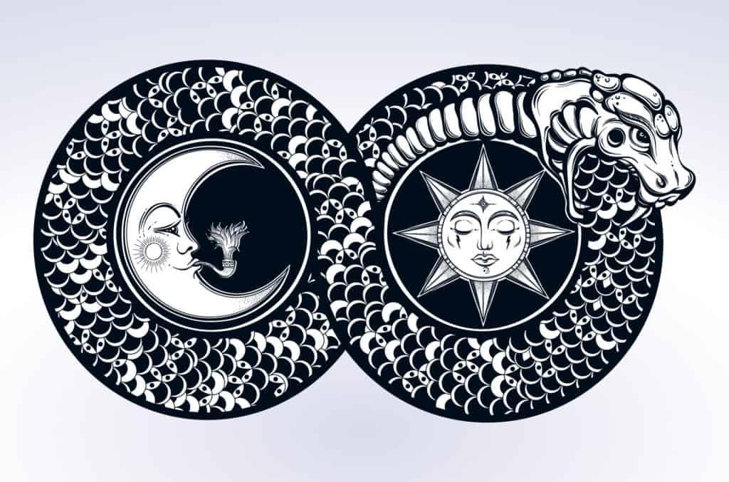 Ouroboros the Infinity Symbol