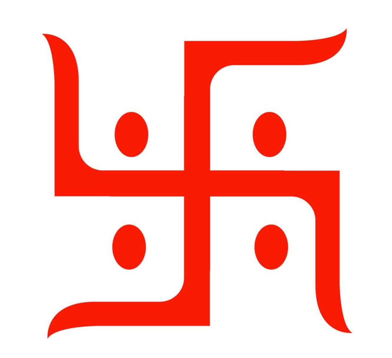 Swastika , One of the Buddhist Peace Symbols