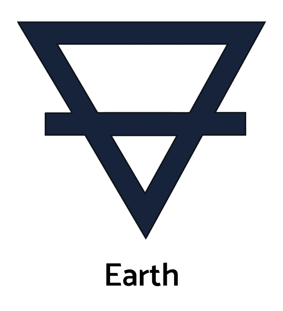 Alchemical Earth, One of the Main Alchemy Symbols