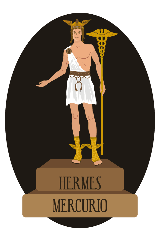 Hermes, the Greek God of Speed, Trade and Merchants