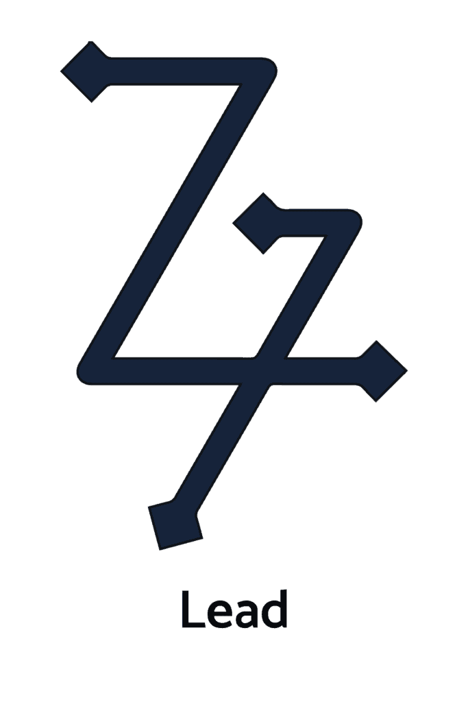 Lead, One of the Seven Metals in Alchemy, Alchemical Symbols Collection