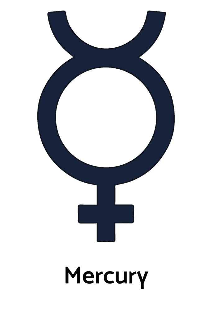 Mercury Alchemy Symbol
