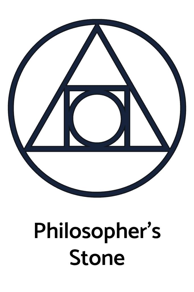 Philosopher's Stone As An Alchemy Symbol