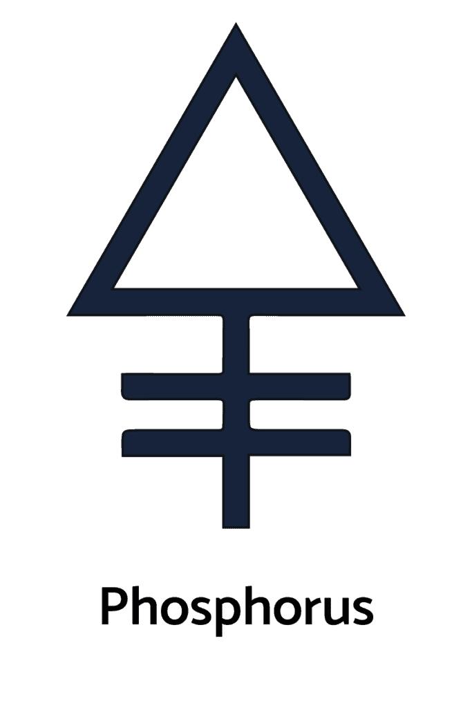 The Symbol for Phosphorus in Alchemy