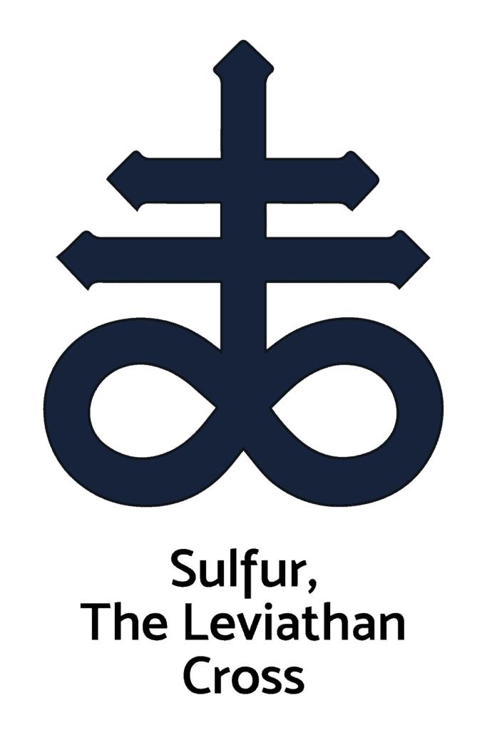Sulfur, Leviathan Cross, An Alchemy Symbol