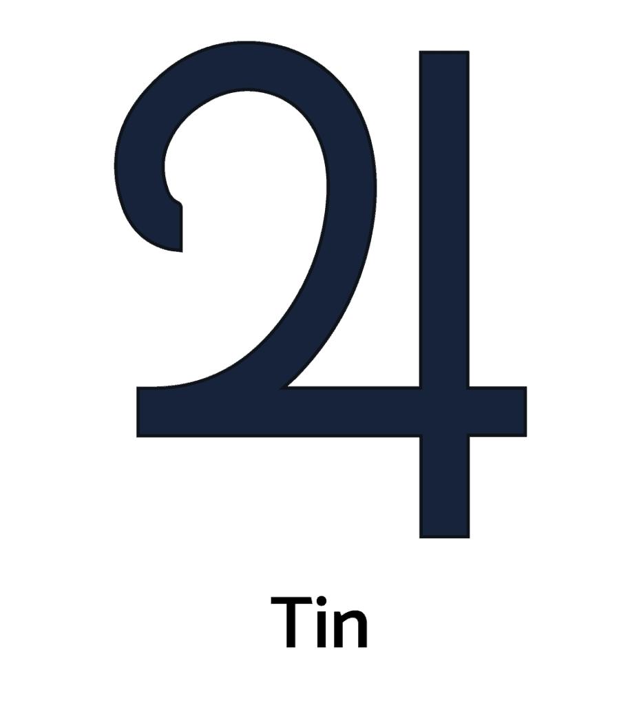 Tin and Jupiter Alchemy Symbol