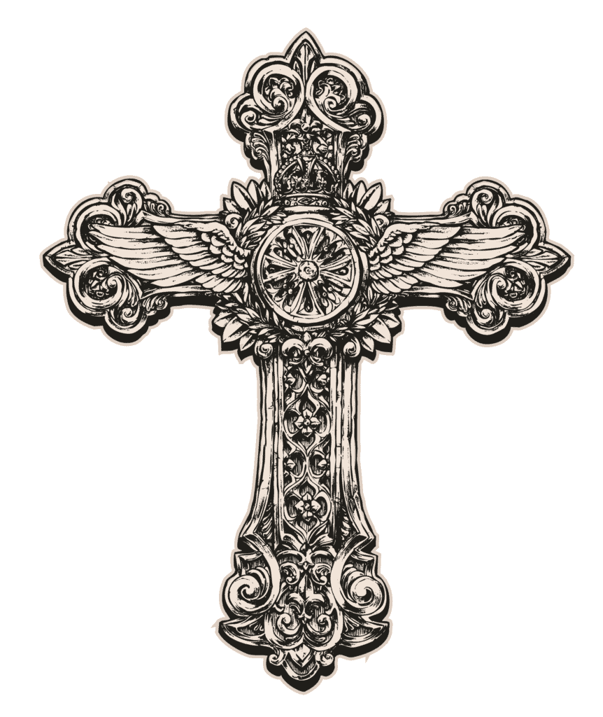 Latin Cross One of the Christian Cross Variants As Part of The List of Different Types of Crosses