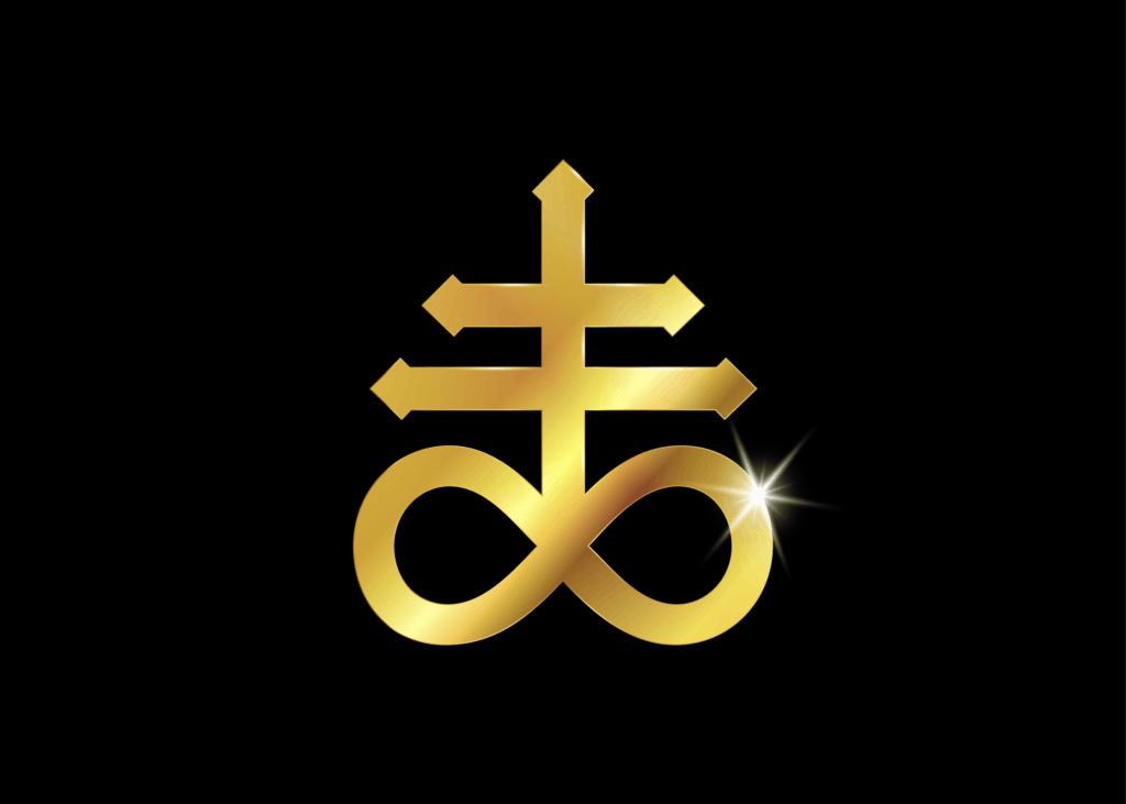 Leviathan Cross Satanic Symbol