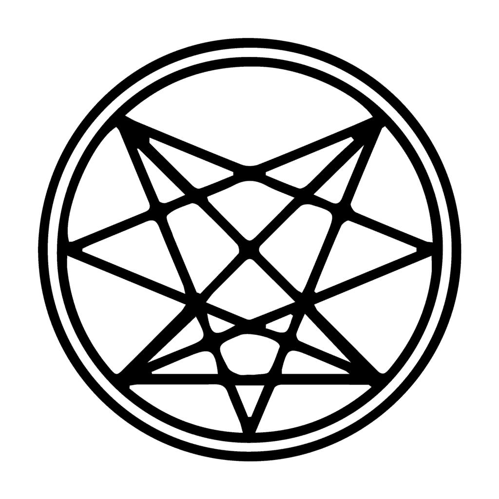 Septenary Sigil of the Order of the Nine Angles Satanism Symbols