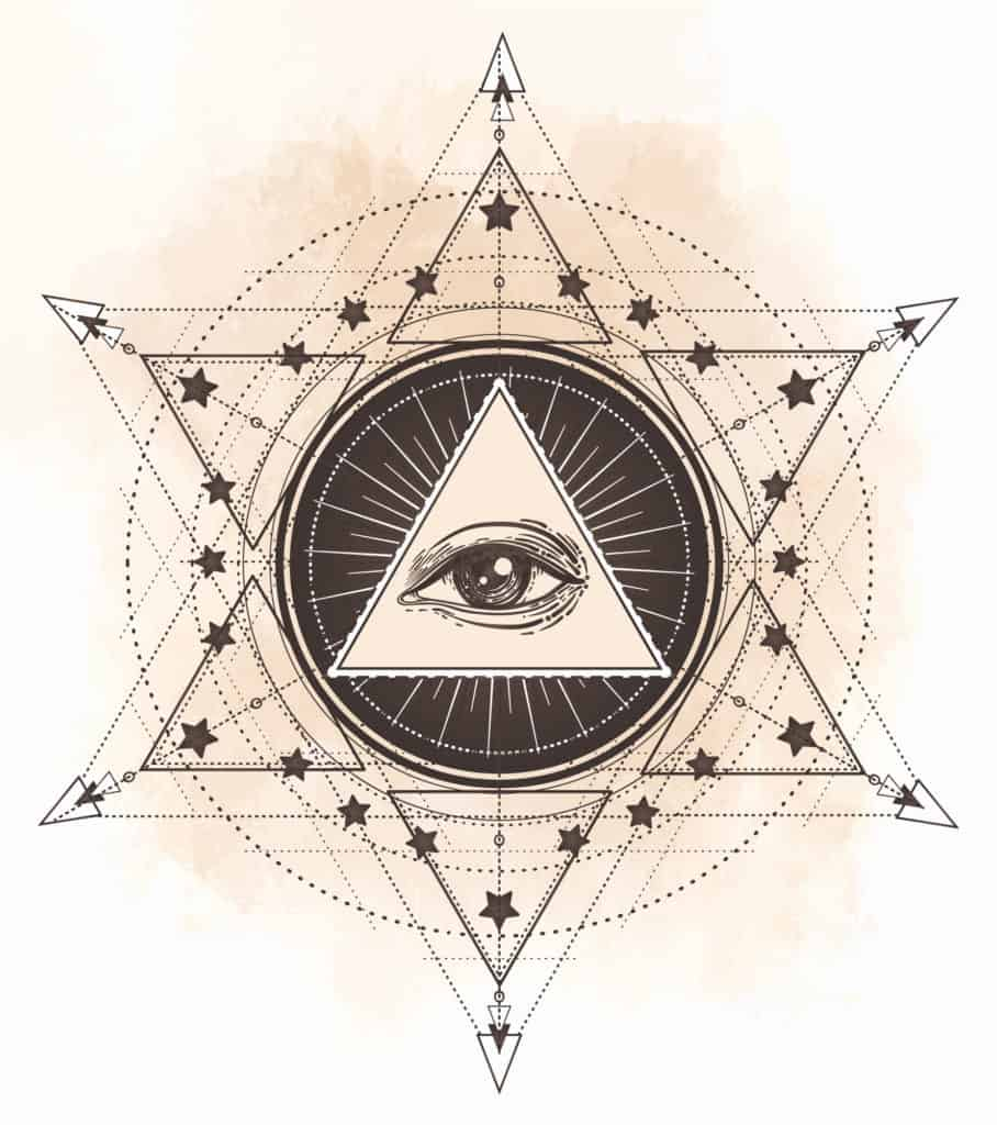 Eye of Providence As An Occult Magic Symbol