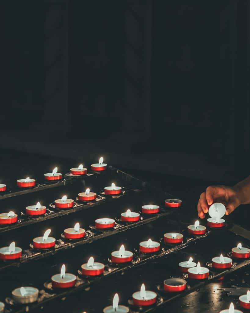 Candles as Death Symbols
