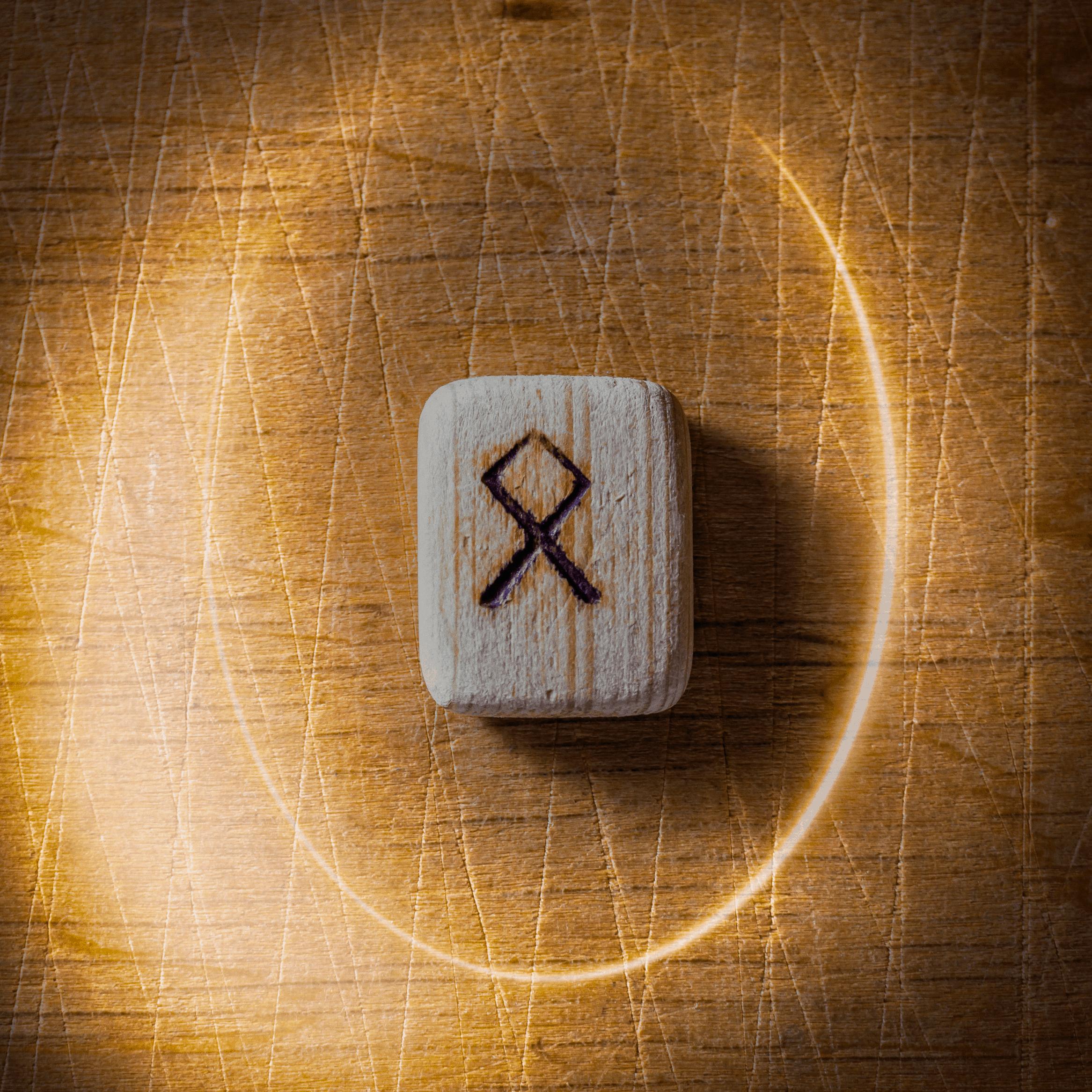 Odal Rune Magic Norse Symbol Picture