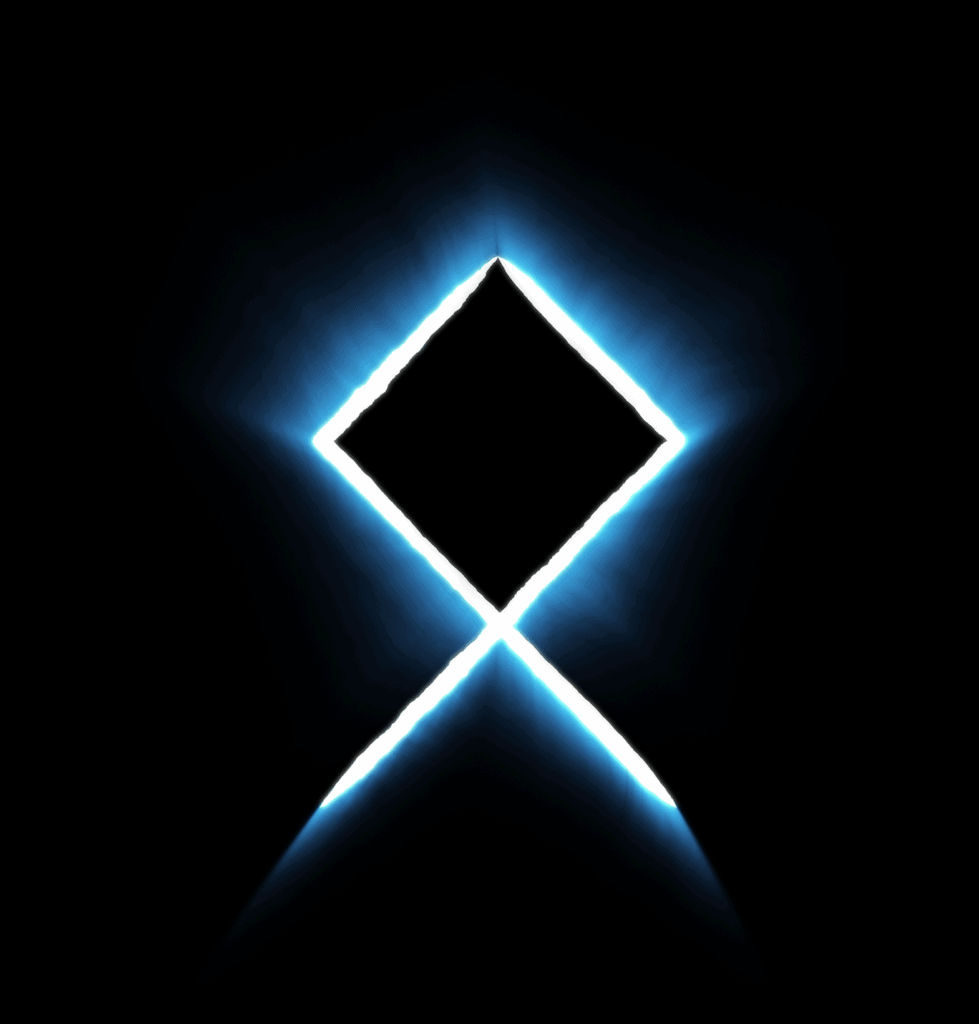 Odal Rune Meaning, Symbolism and Origin Explained, Othala in Blue And White