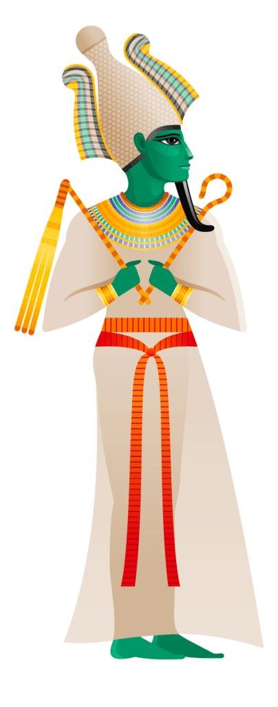 Osiris the Ancient Egyptian God as a Death Symbol