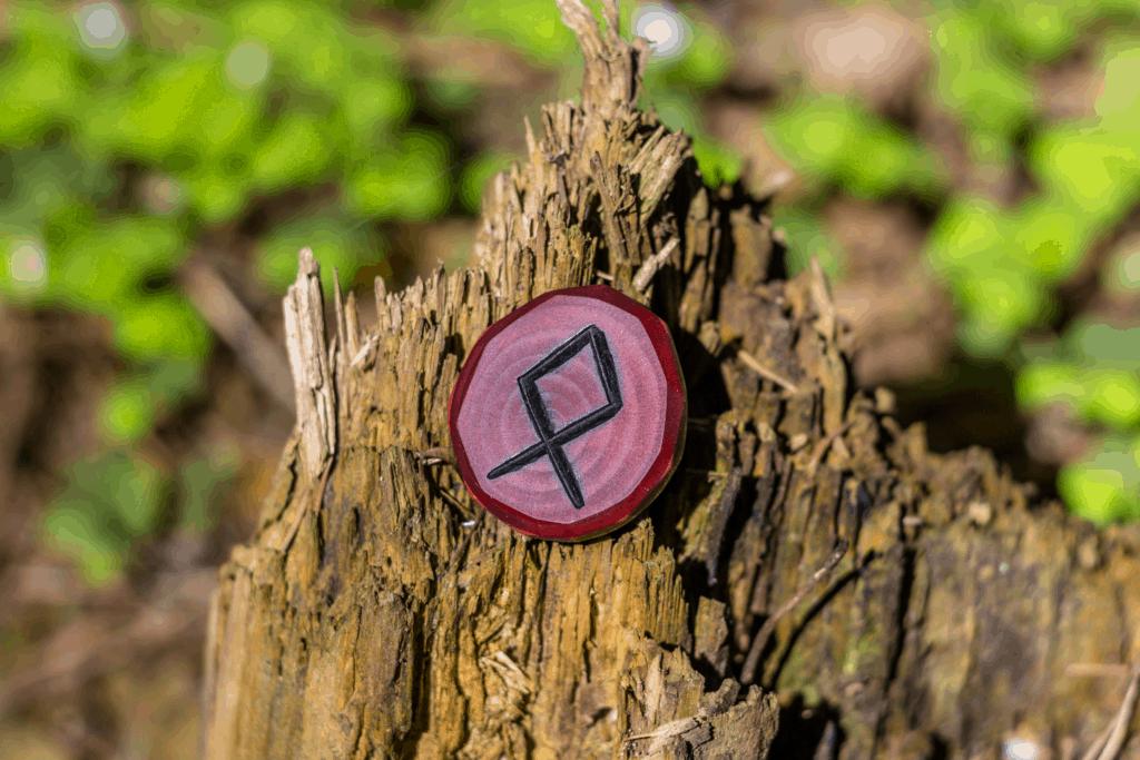 Othala Rune Elder Futhark Symbol