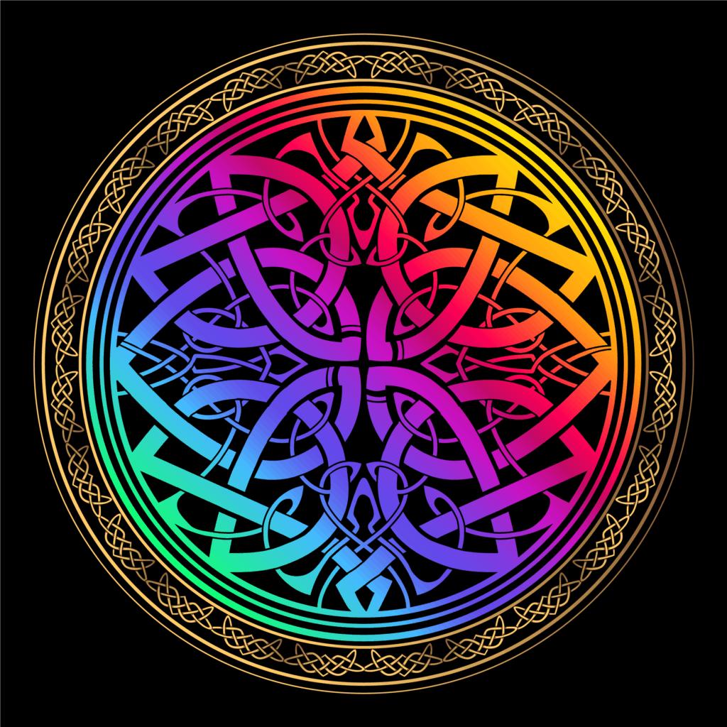 Celtic Shield Knot Symbol, a Celtic Protection Symbol