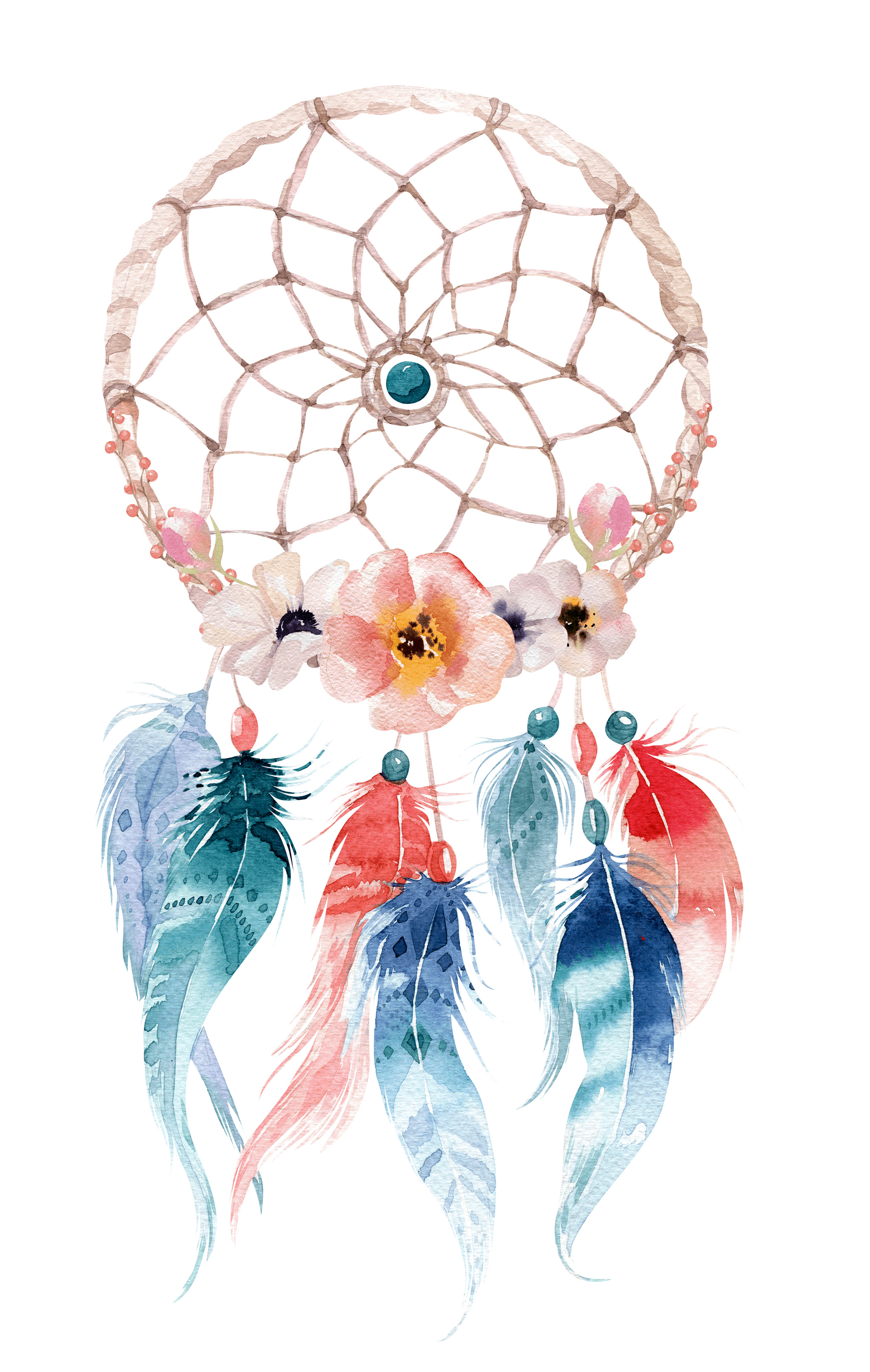 Dream catcher, Protection Symbols and Signs Collection