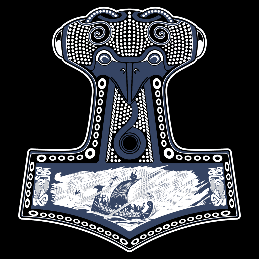 Mjolnir Norse Symbol of Protection