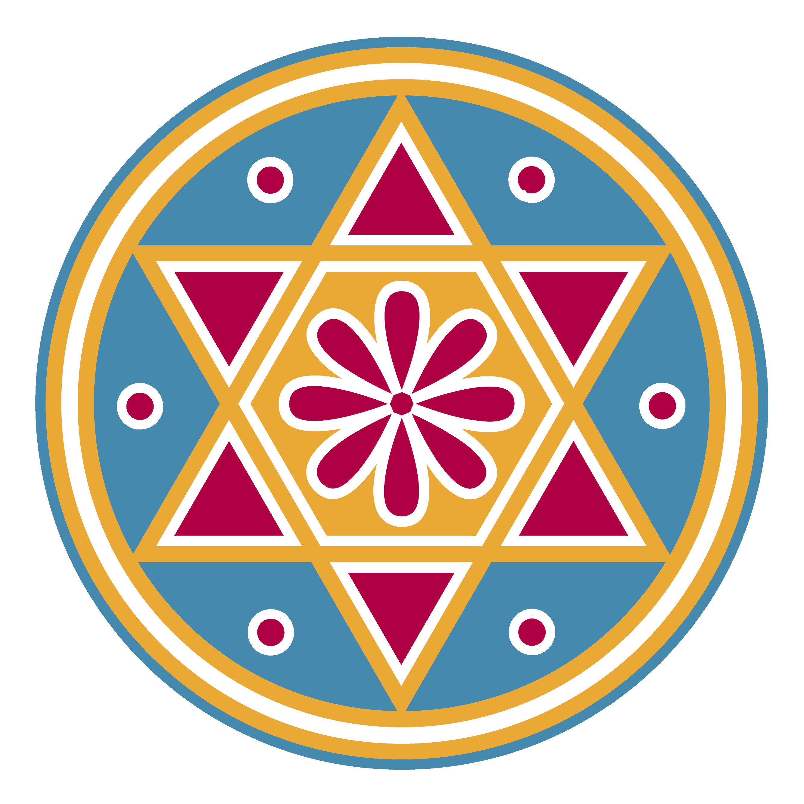 Seal of Solomon Meaning and Symbolism Explained, a Colored Illustration
