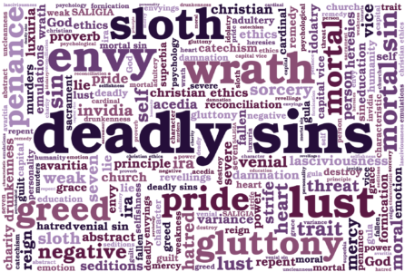 Seven Deadly Sins Symbols: The List With Colors And Animals Corresponding To 7 Cardinal Sins
