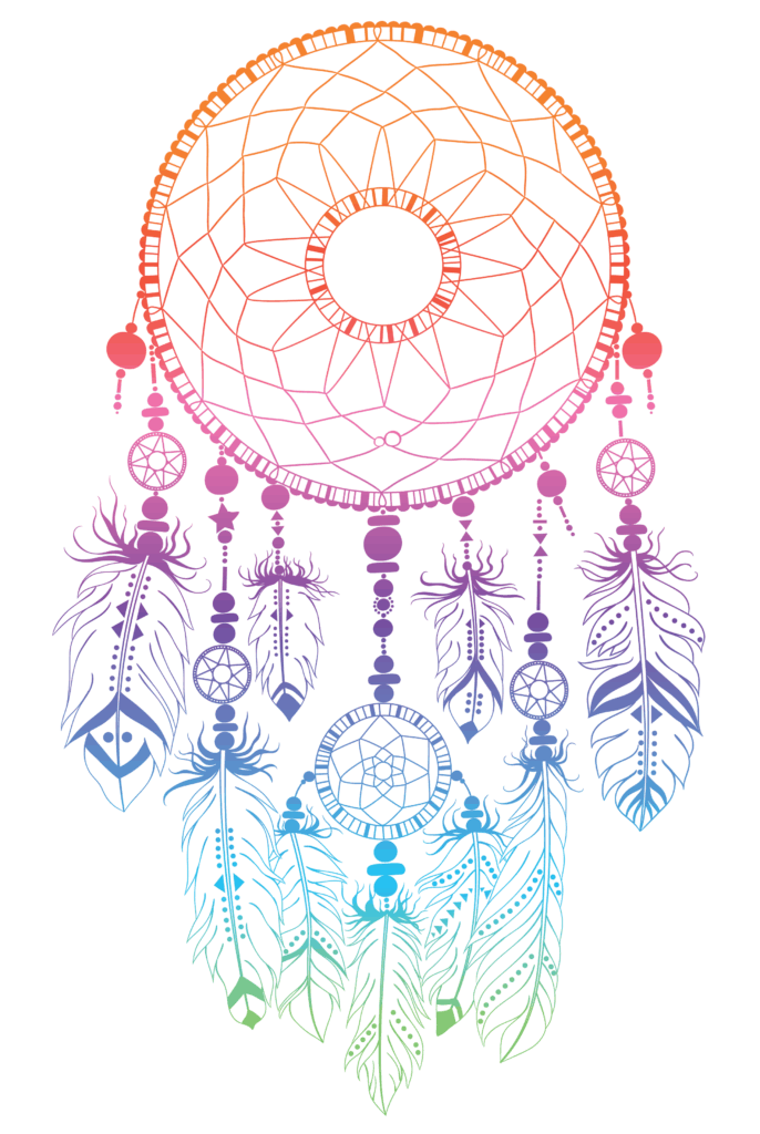 Symbols of Protection a Dreamcatcher in Light Colors