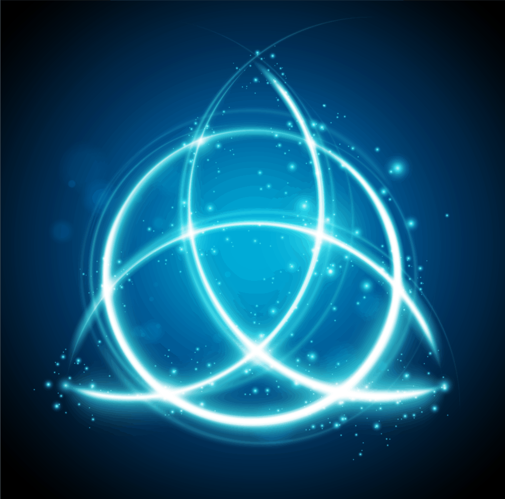 Celtic Triquetra Symbol , also known as the Celtic Trinity Knot of Protection