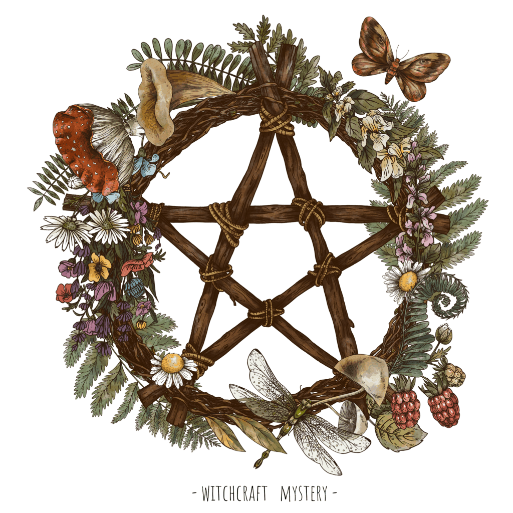 Wiccan Pentacle a Protection Symbol